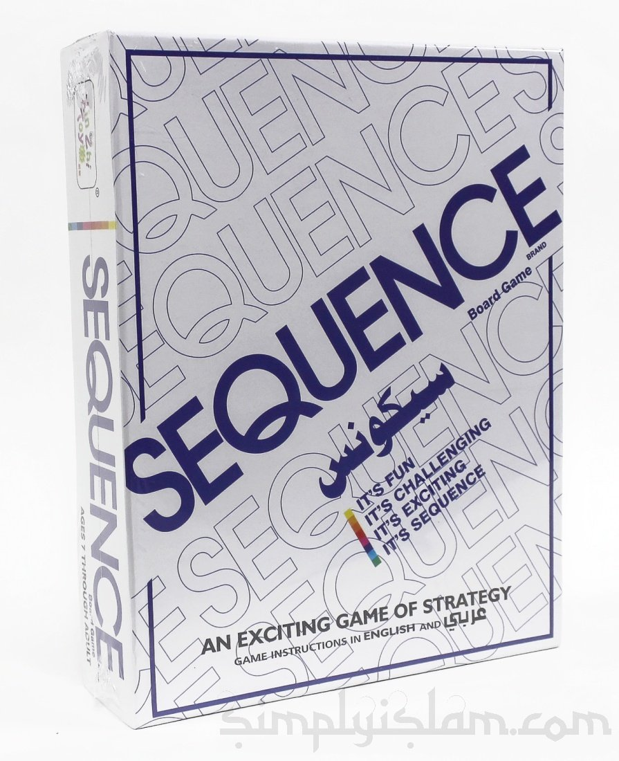Sequence In Arabic Board Game Amazon Kitchen Home