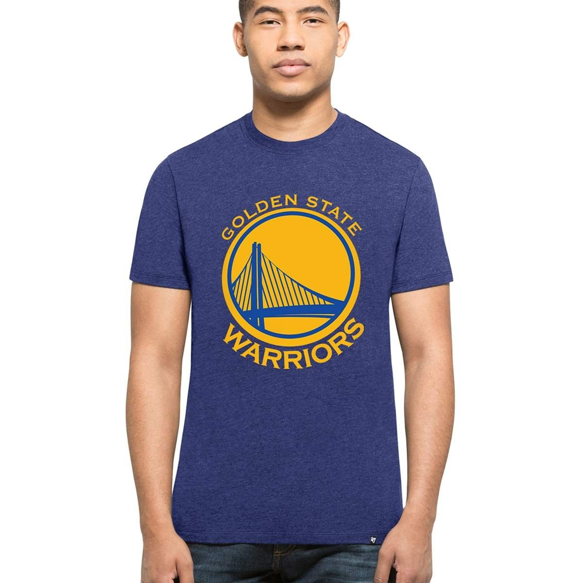 '47 Brand Golden State Warriors Club NBA T-Shirt Blue 305240-RYL