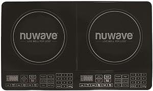 Nu Wave 30602 Double Precision Induction Cooktop Burner Black