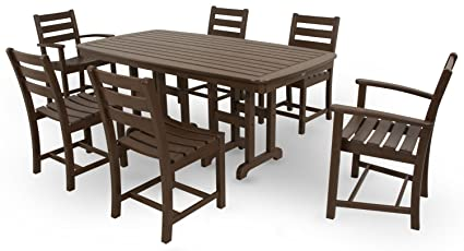 Amazon Com Trex Outdoor Furniture Txs118 1 Vl Monterey Bay 7 Piece