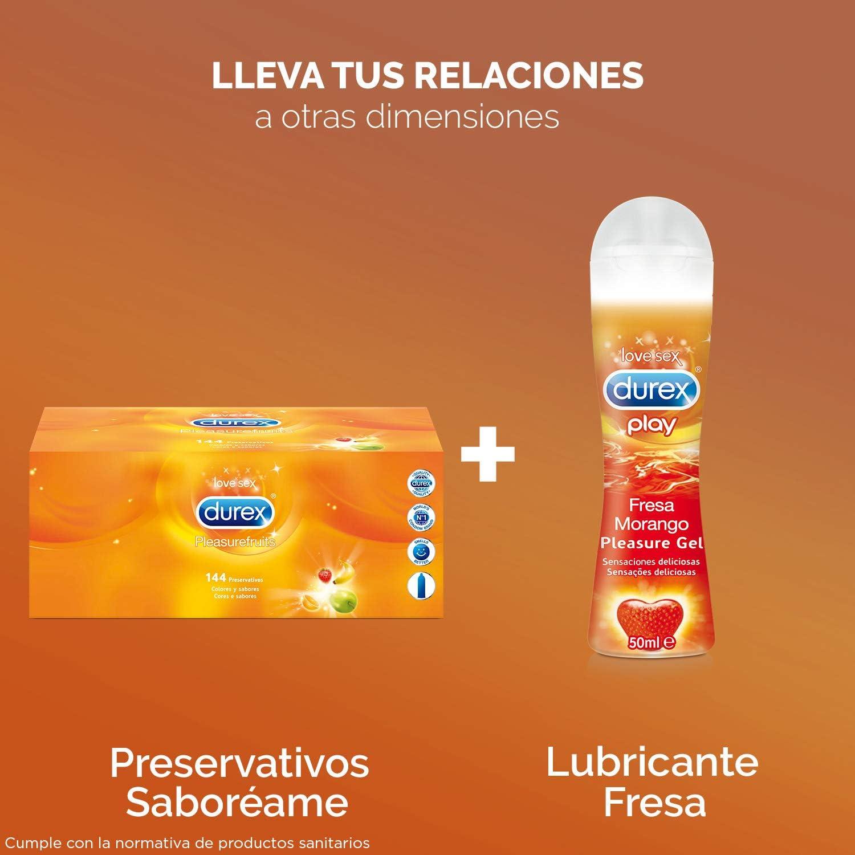 Durex Preservativos Saboreame con Sabores Afrutados - Pack 144 Condones: Amazon.es: Salud y cuidado personal