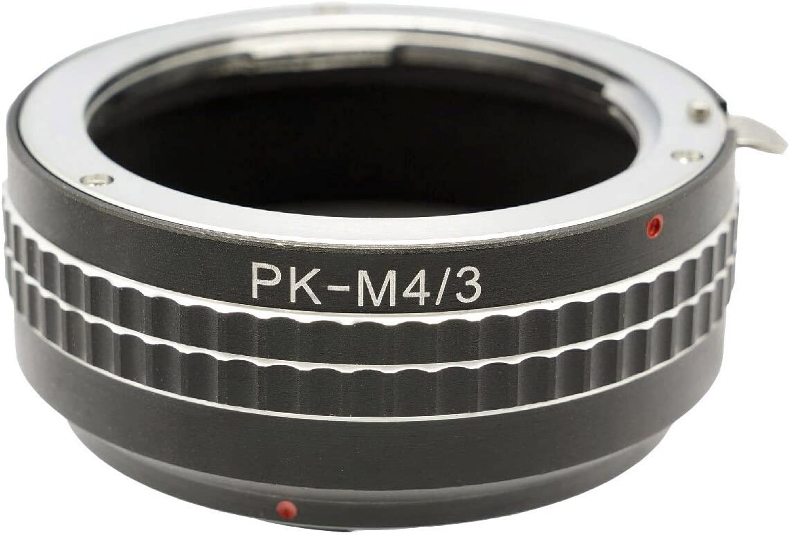 Photo Plus Pentax Lens Adapter for Panasonic Lumix DMC-GH3 GH2 GH1 GF6 GF5 GF3 GF2 GF1 G10 G6 G5 G3 G2 G1 AG-AF100