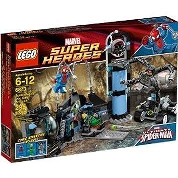 LEGO Marvel Super Heroes Spiderman Doc Ock Ambush 6873: Amazon.co.uk ...