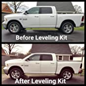 2017 Ram 2500 Leveling Kit >> 3 Raise Front Leveling Lift Kits For 2006 2018 Dodge Ram 1500 4wd 2005 2011 Dodge Dakota 2wd 4wd Dynofit 3 Inch Front Strut Spacer Suspension Lift