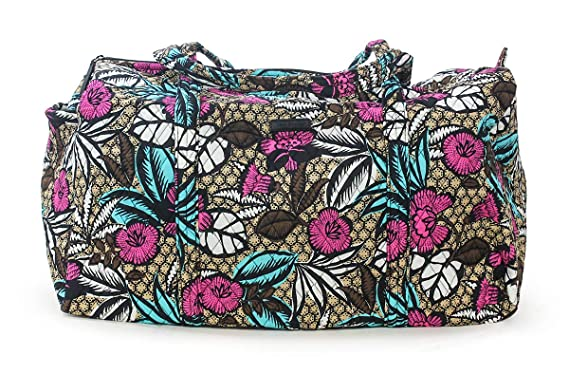 f9ded4bc9122 Image Unavailable. Image not available for. Color  Vera Bradley Canyon Road Large  Duffel