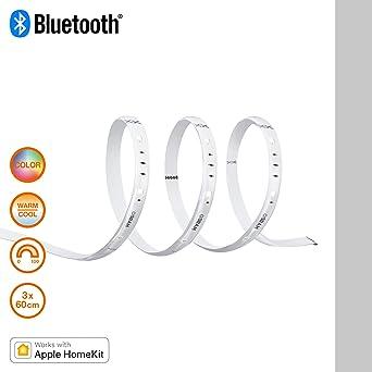 Osram Lightify Flex LED Streifen 180 cm L/änge Warmwei/ß bis tageslicht 2000K- 6500K und Farbsteuerung RGB Dimmbar Kompatibel mit Alexa