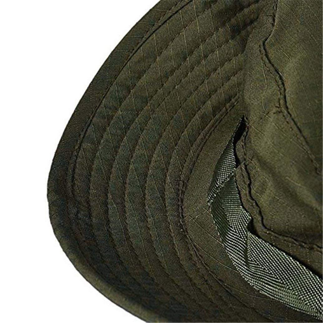 Sombrero para El Sol Sombrero Militar Plano Sombrero De Al Aire Escalada  Libre Especial Estilo Sombrero De Pesca Gorro para Hombre Protector Solar  para ... 5e80d02efd3