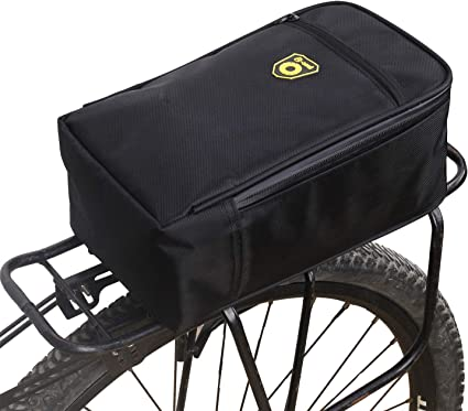Waterproof Double Panniers Bag Bike Bicycle Cycling Rear Seat Trunk Rack Pack