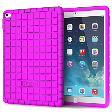 brand new 8cb07 fa094 iPad Air 2 Case - Poetic iPad Air 2 Case [GraphGRIP Series] - [Lightweight]  [GRIP] Protective Silicone Case for Apple iPad Air 2 Lavender (3 Year ...