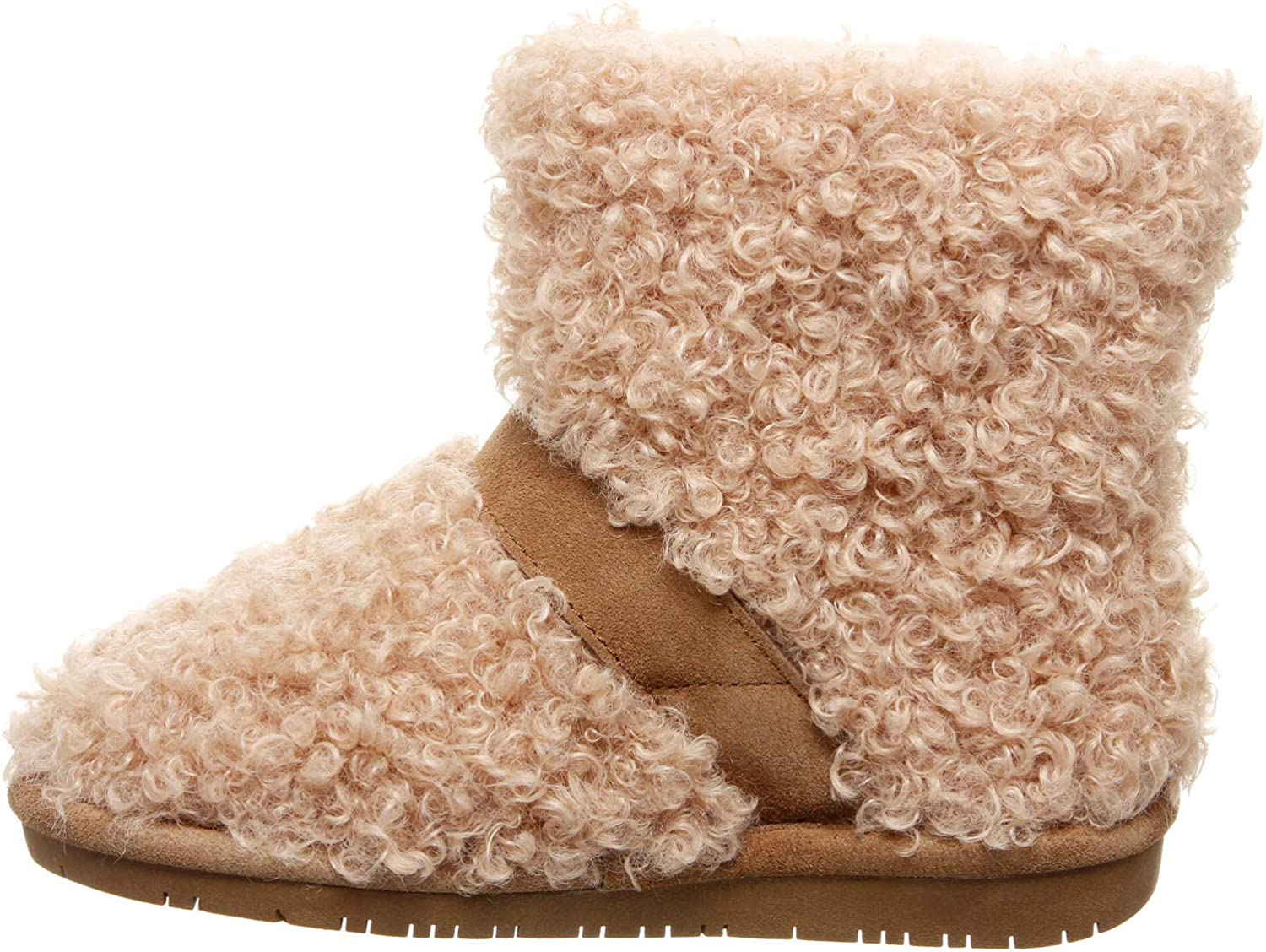 Bearpaw Treasure Youth, Bottes Souples Fille Beige Taupe 122