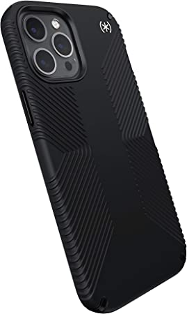Speck Products Presidio2 Grip Iphone 12 Pro Max Schutzhülle Schwarz Weiß Elektronik