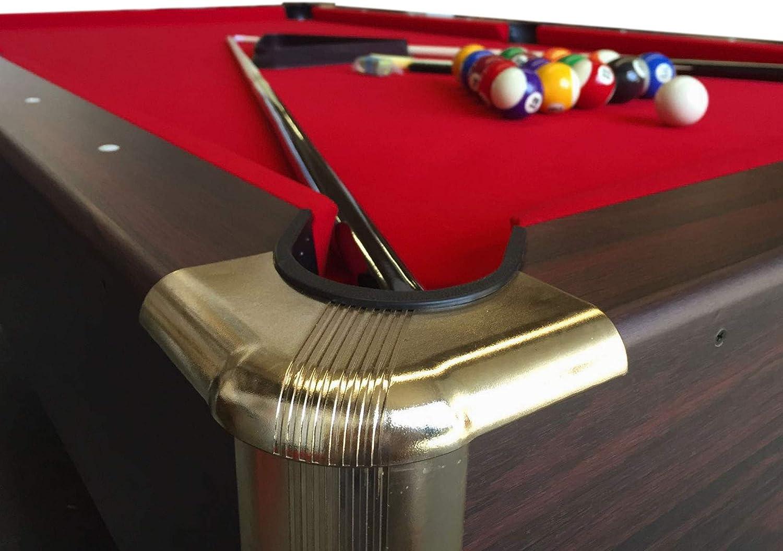 Mesa de billar juegos de billar pool 7 ft Modelo ARES Rojo Medición de 188 x 94 cm carambola con monedero electrónico Are Nuevo embalado!: Amazon.es: Deportes y aire libre