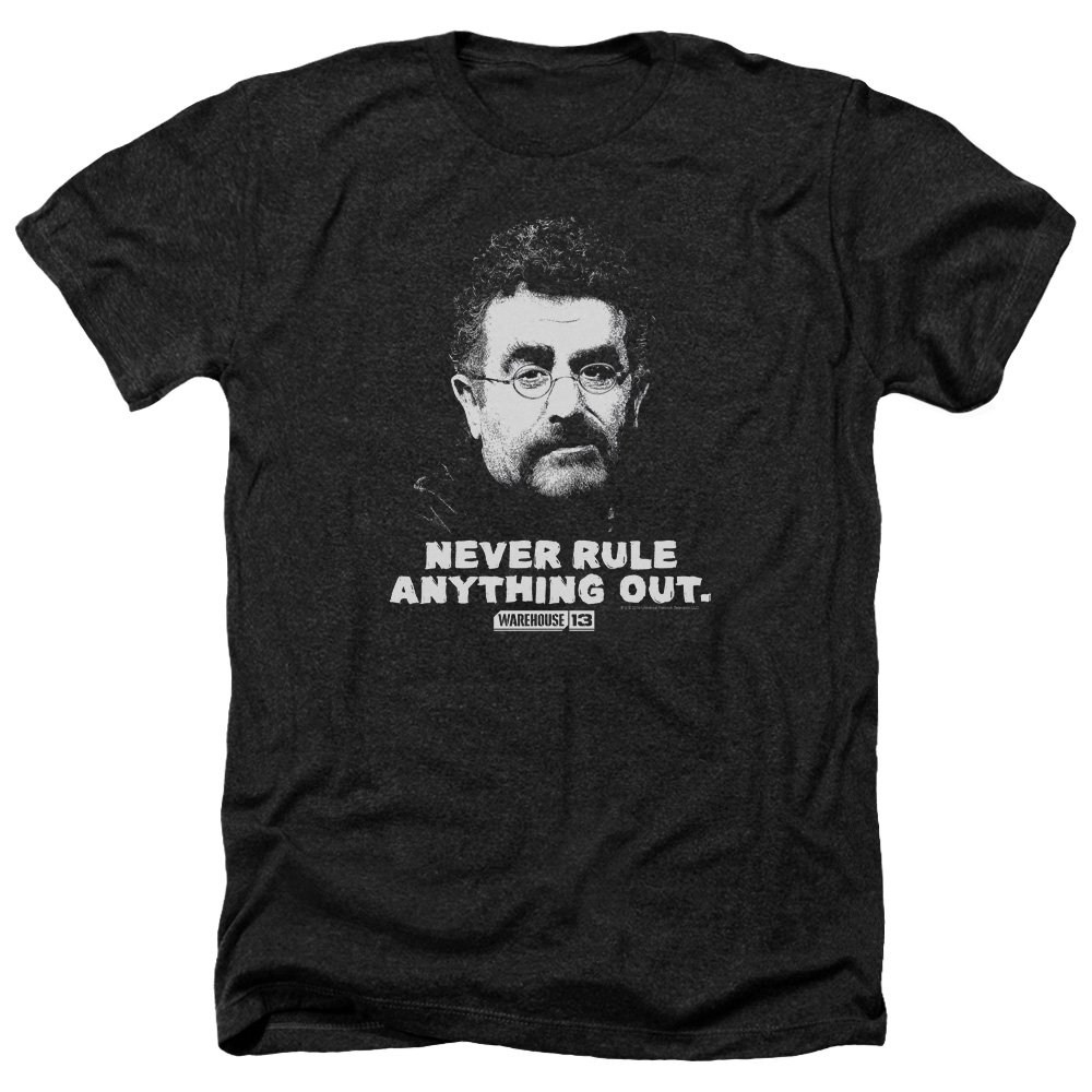 Trevco Mens Warehouse 13 Many Looks Adult T-Shirt