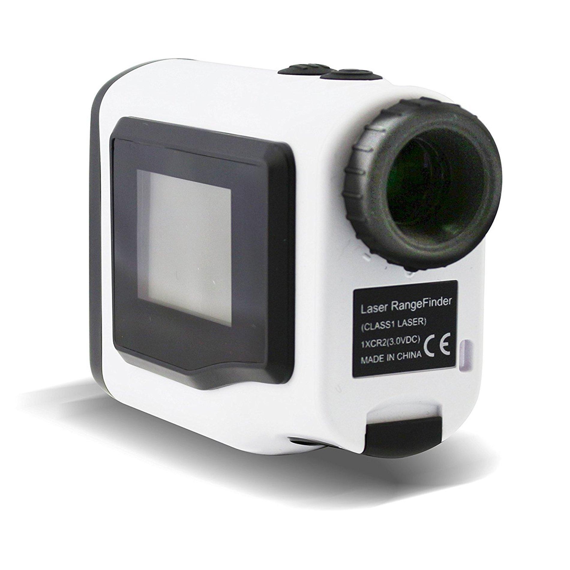 POSMA GF600 Golf Rangefinder 600m Handheld Laser Range Finder 4 Modes External LCD Adjustable Focus Slope Mode