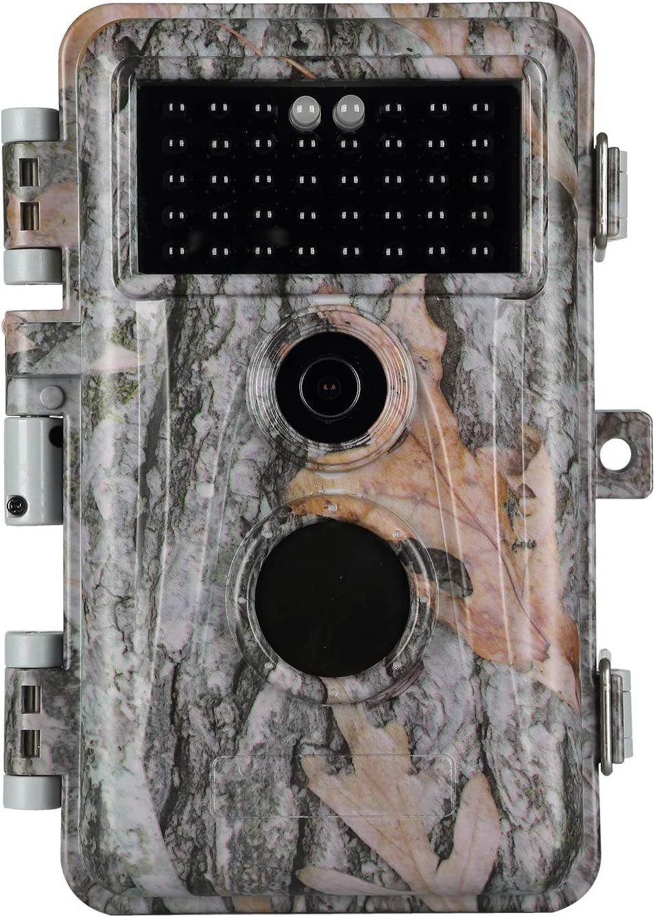 Folgtek Night Vision Trail Camera Camo Stealth Deer Hunting Cam 20MP Photo 1080P H.264 Video IP66 Waterproof & Password Protected for Outdoor Wildlife Hunting and Home & Yard Security Surveillance