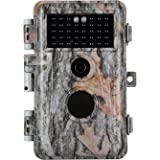 Folgtek Night Vision Trail Camera Camo Stealth Deer Hunting Cam 20MP Photo 1080P H.264 Video IP66 Waterproof & Password Prote