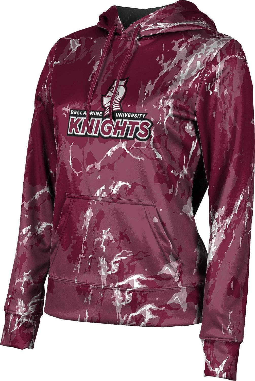 School Spirit Sweatshirt Splatter ProSphere Bellarmine University Mens Pullover Hoodie