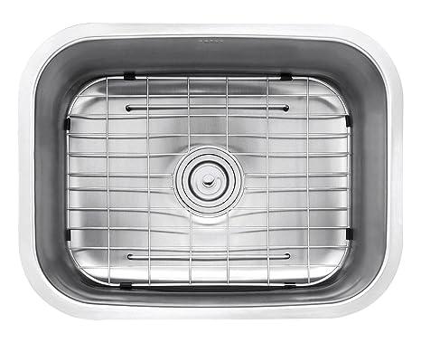 Vasca Da Cucina In Acciaio : Da kraus kbu12 euo 23 da incasso in singole bowl 16 mm da cucina in