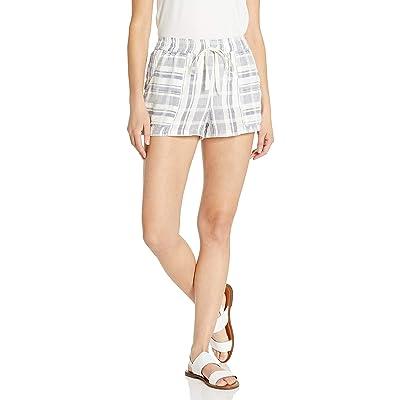 Angie Women's Woven Stripe Short: Clothing