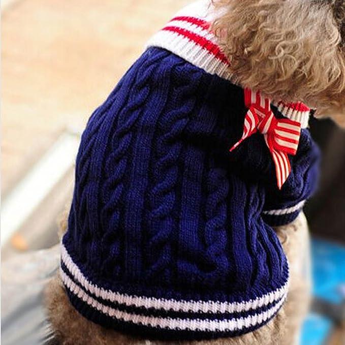 BEETEST Estilo Navy Lindo cachorro perro caliente Puente punto ...