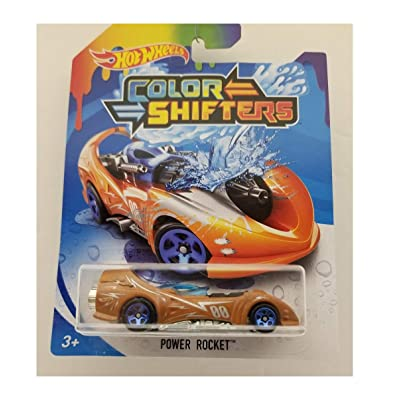 Hot Wheels Color Shifters Power Rocket 2020: Toys & Games