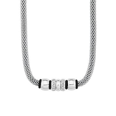 en ligne ici acheter populaire acheter de nouveaux s. Oliver - Collier Chaine Mesh 42 + 3 cm réglable acier ...