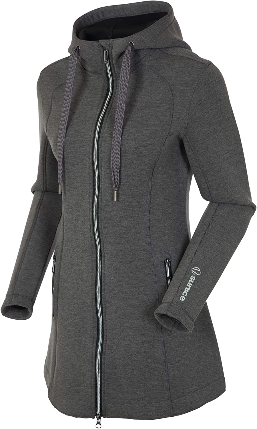 Softshell Zip Up Jacket with Thermal Insulation Sunice Bobbie Womens Hoodie