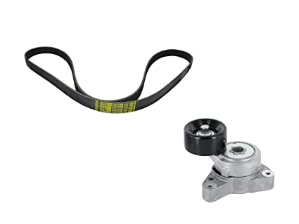 ACDelco ACK070690 Professional Accessory Belt Drive System Tensioner Kit with Belt and Tensioner