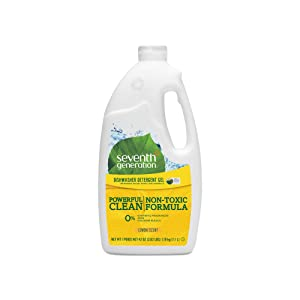 An Item of Seventh Generation Natural Automatic Dishwasher Gel, Lemon Scent (42oz.) - Pack of 3