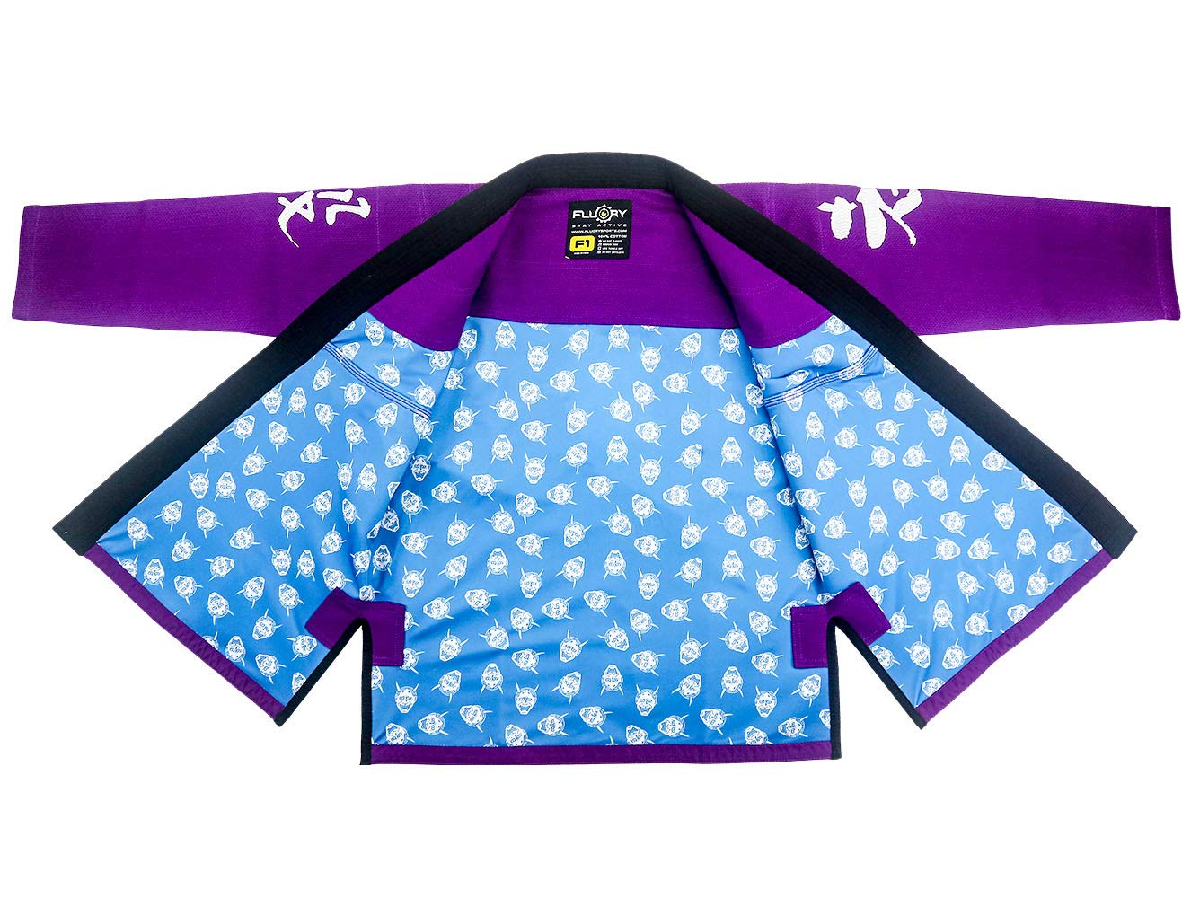FLUORY Lightweight BJJ Gi,Brazilian Jiu Jitsu Uniform for Men /& Women