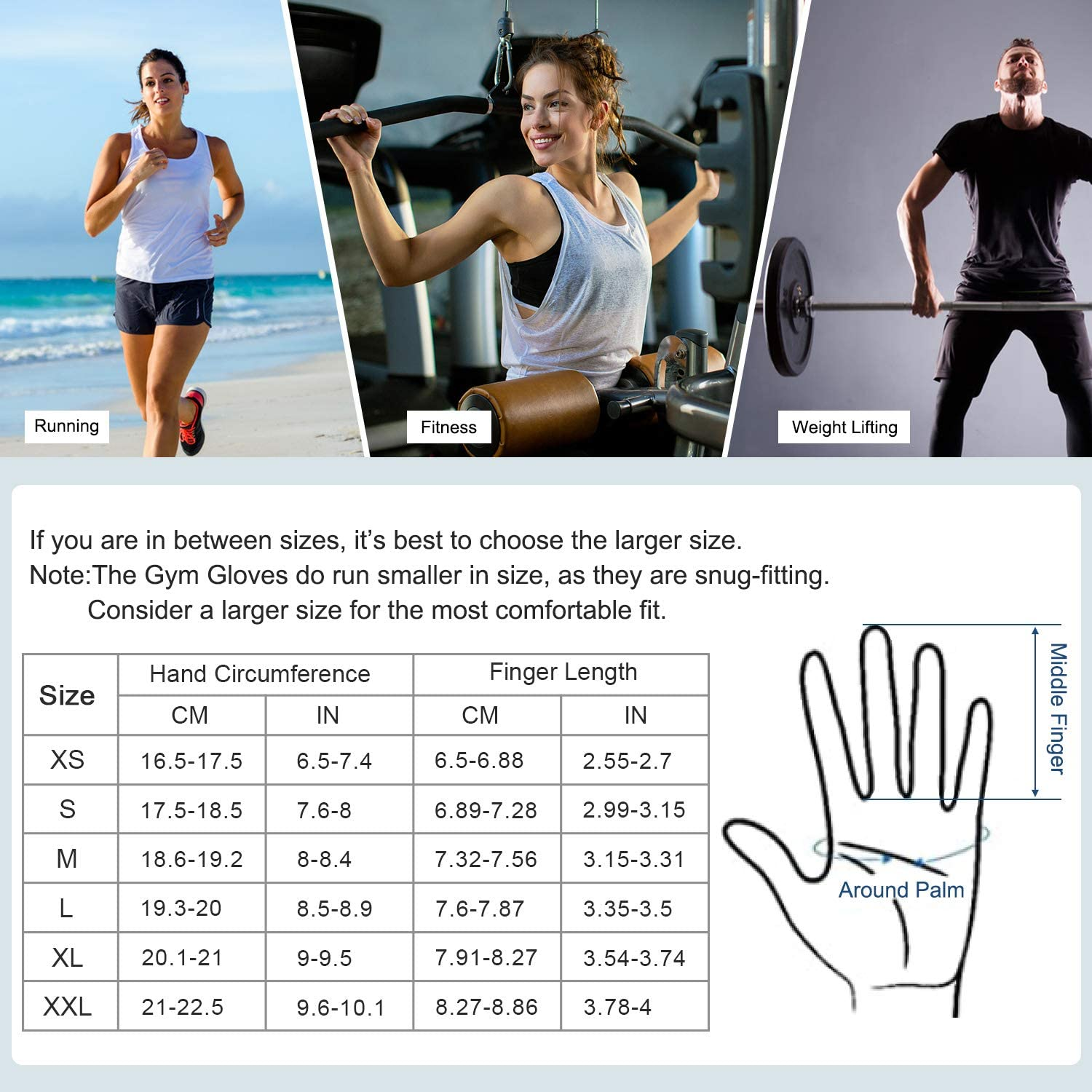 Full Finger Gym Gloves Leather Palm Protection/&Strong Grip SAVIOR HEAT Workout Gloves for Women Men Breathable Flexible Thin Comfort Gloves for Training,Running,Fitness