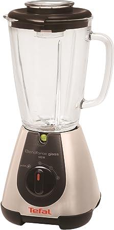 Tefal BL310A Batidora de vaso Plata 1.75L 500W - Licuadora (Vidrio, Acero inoxidable): Amazon.es: Hogar
