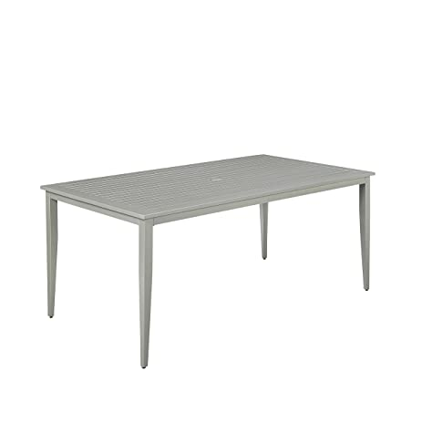 Home Styles 5700 31 South Beach Rectangular Patio Dining Table, Gray