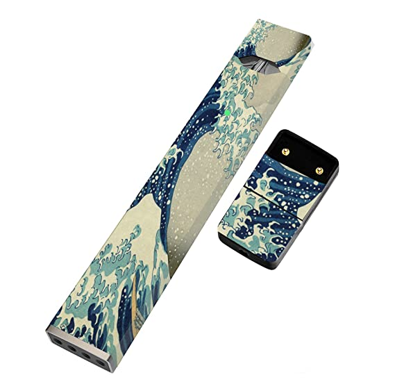 Amazon com: Wave Sketch Juul Skin | Sticker Wrap For juul
