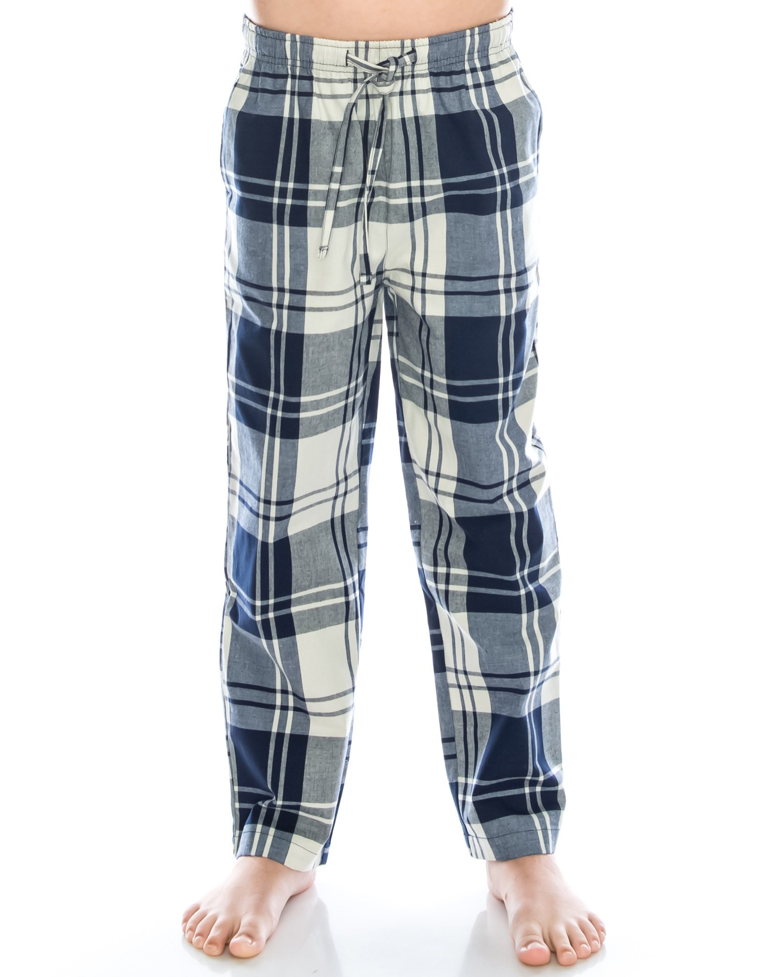 TINFL 6-14 Years Big Boys Plaid Check Soft