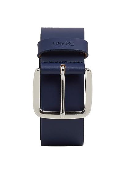 e1e27afdc Esprit Accessoires 049ea1s001 Cinturón, Azul (Navy 400), 95 (Talla del  fabricante