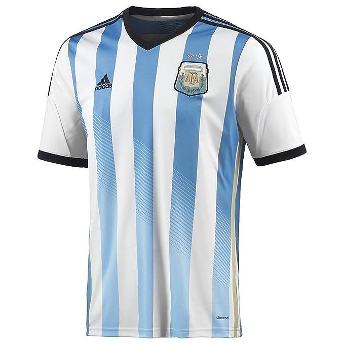 adidas Argentina - Camiseta para Hombre - G74569_XL, Large, White/Columbia Blue/Argentina Blue: Amazon.es: Deportes y aire libre