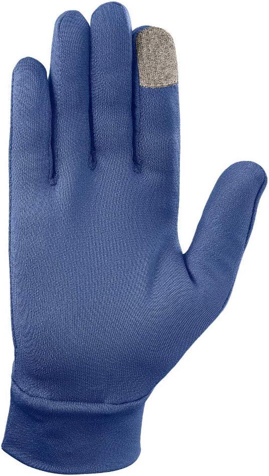 Salomon Unisex Leichte Lauf-Handschuhe Blau Poseidon AGILE WARM GLOVE U Touchscreen kompatibel