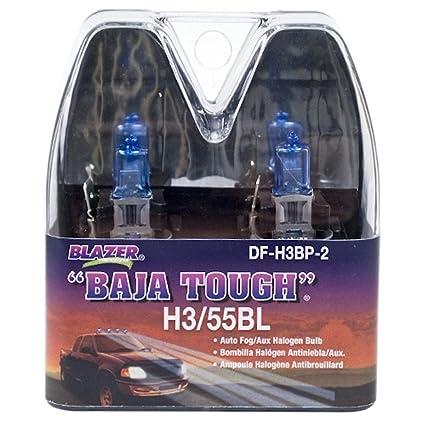 Amazon.com: Blazer DF-H3BP-2 Halogen Fog Lamp Replacement Bulb for H3-55BL - Blue: Automotive