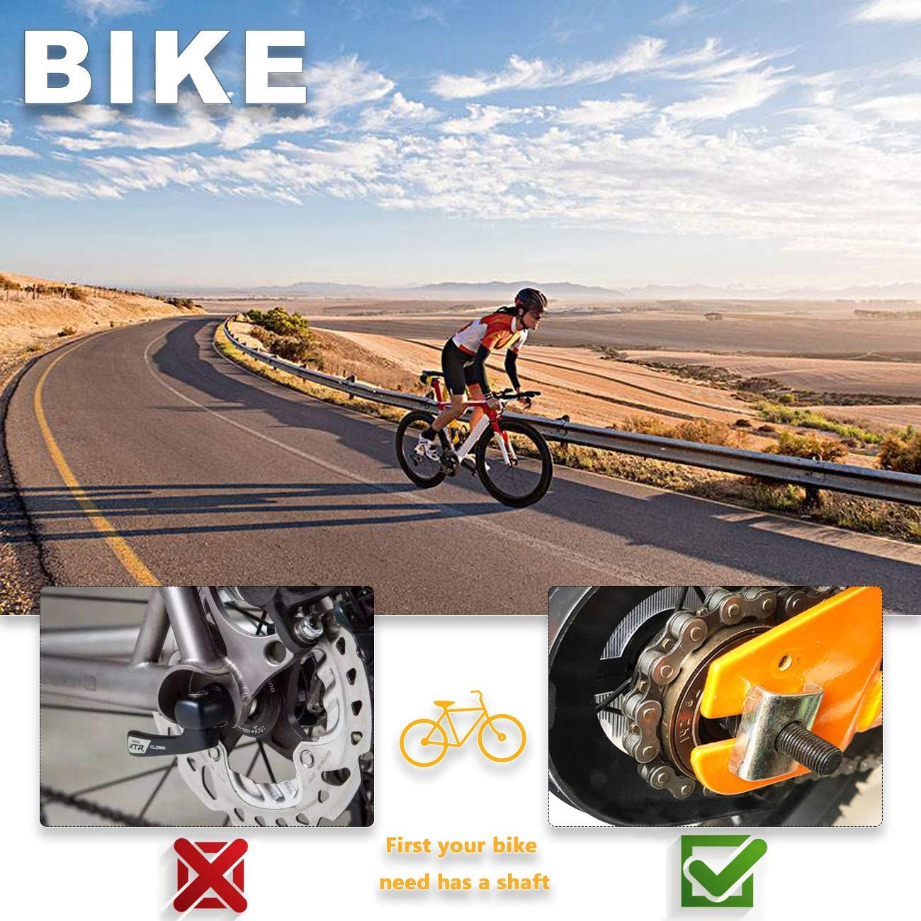 Bike Pegs Aluminum Alloy Anti-Skid Foot Pedals Backseats Stands for BMX Mountain Bike Bicycle Cycling