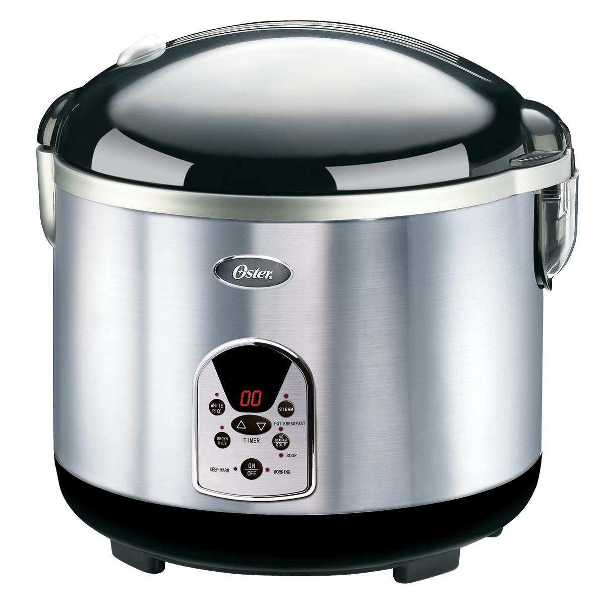 Amazon Oster 20 Cup Digital Rice Cooker Blackstainless Steel