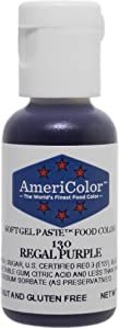 Americolor Soft Gel Paste Food Color.75-Ounce, Regal Purple