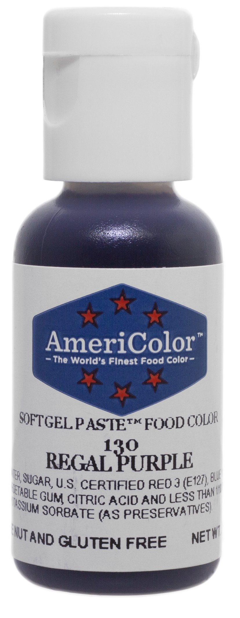 Americolor Soft Gel Paste Food Color, .75-Ounce, Regal Purple