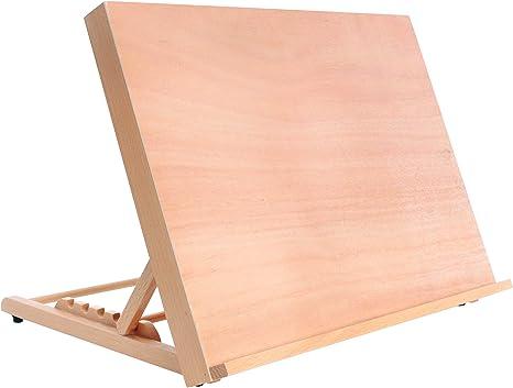 US Art Supply 5-Position Adjustable Wood Artist Drawing /& Sketching Board
