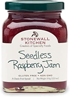 product image for Stonewall Kitchen Seedless Raspberry Jam, 12.5 Ounces
