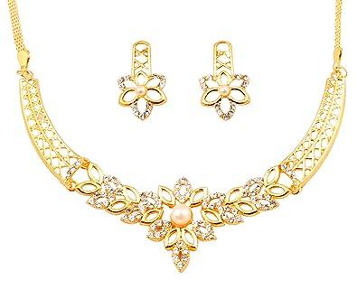 9625264ca Touchstone Parure de bijoux indiens Bollywood avec cristaux ...