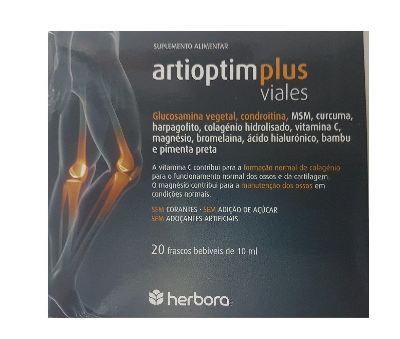 HERBORA - ARTIOPTIM PLUS 20vial HERBORA: Amazon.es: Salud y cuidado personal