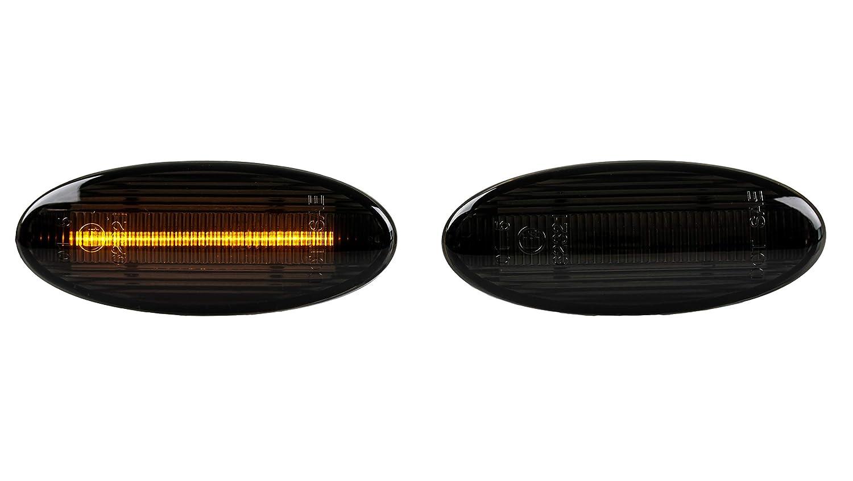 LED Intermitentes laterales para Smoke oscuro para Micra K12 ...