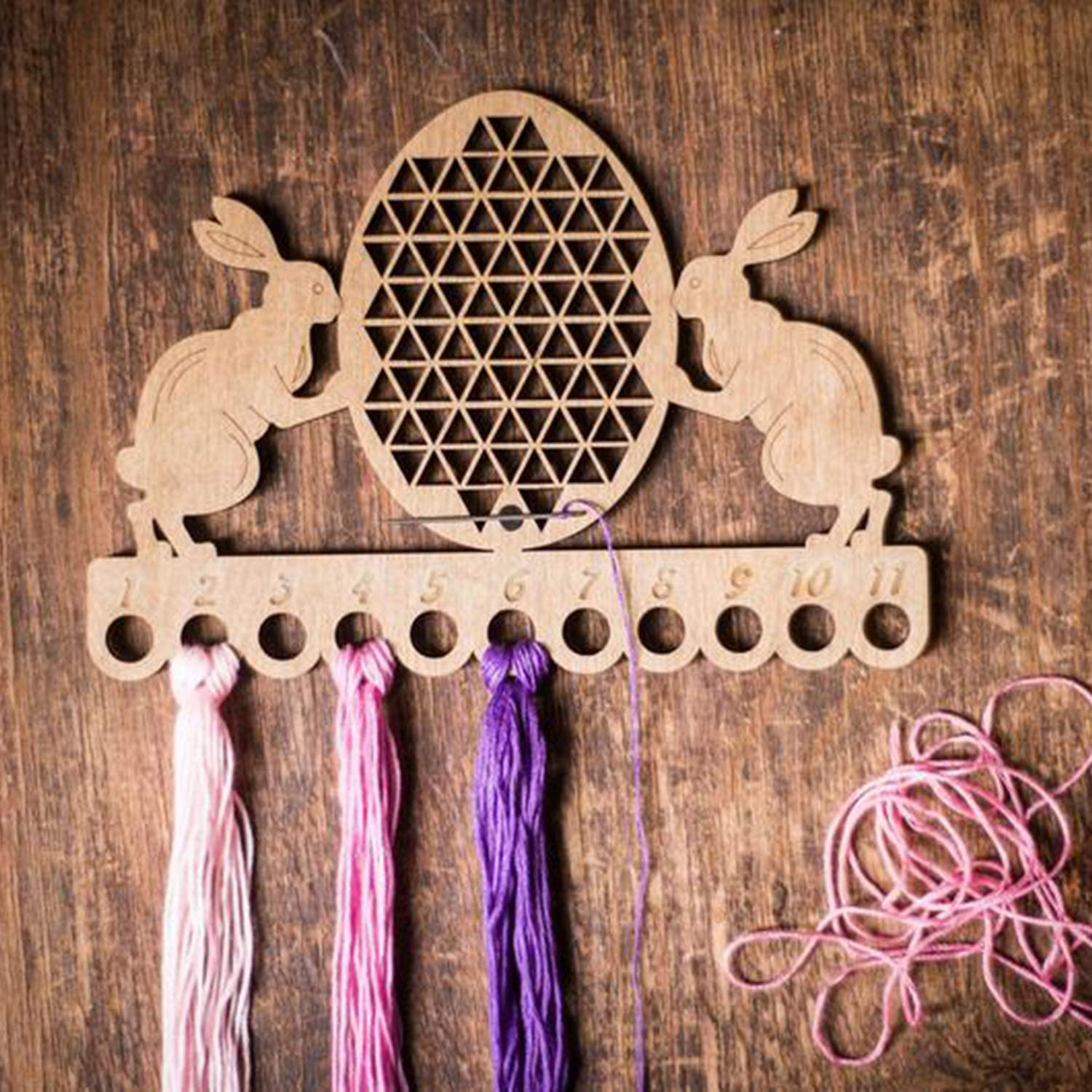 Easter Thread Ring Easter Cross Stitch Accessory Easter Floss Keeper Thread Ring Thread Keeper