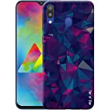 Tip 'n' Top Polycarbonate Back Cover for Samsung Galaxy M20 - Multi-Coloured